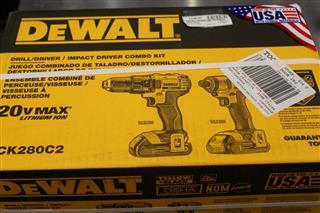DEWALT Combination Tool Set DCK280C2